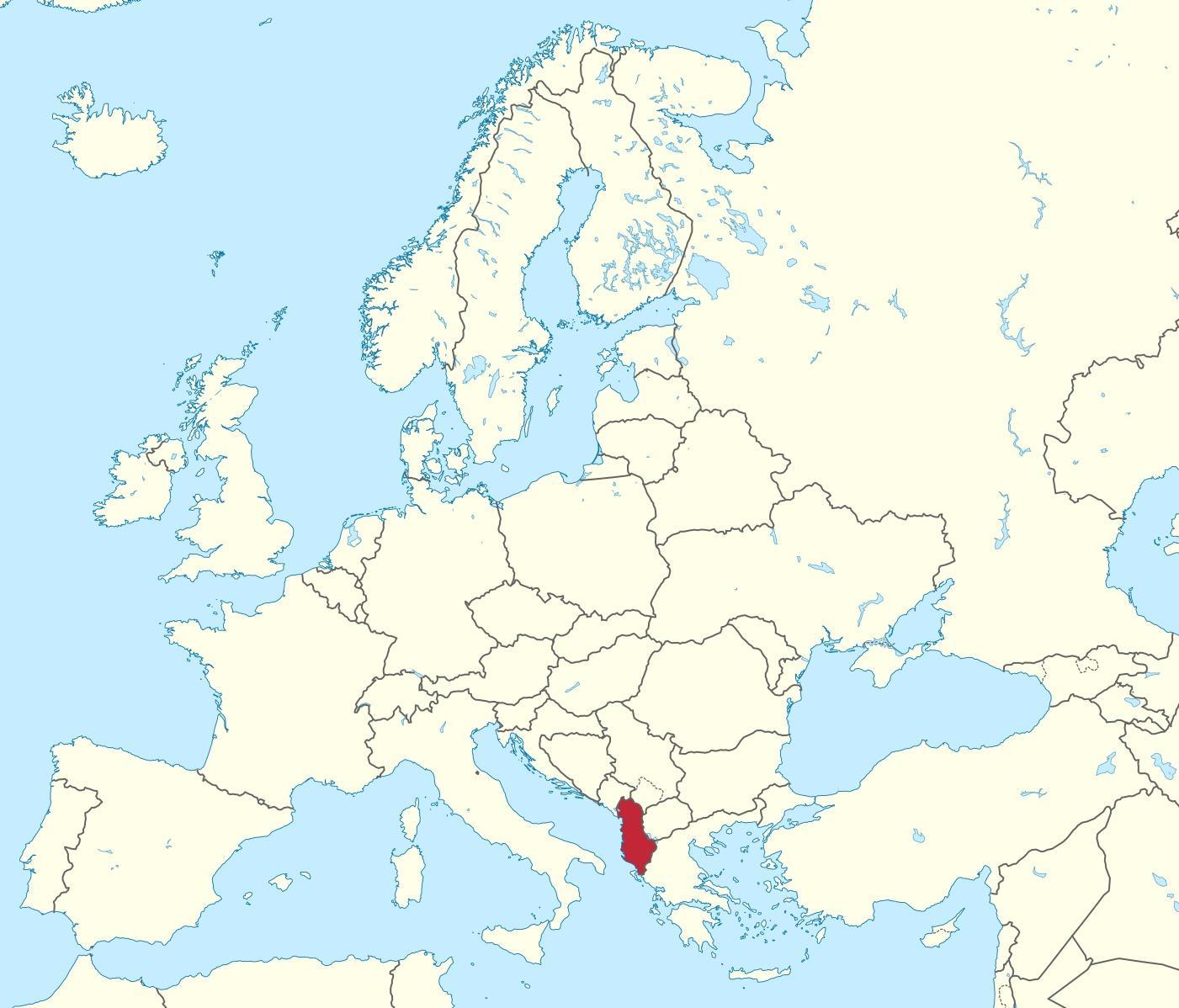 Картинки по запросу Албания на карте Европы
